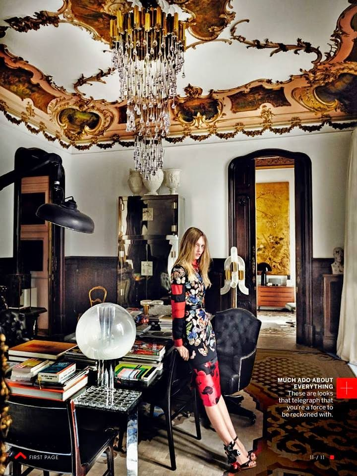 vogue+home+decor | lazaro rosa violan vogue editorial via belle