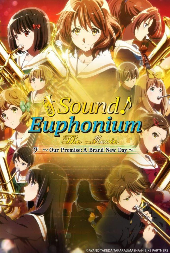 Sound Euphonium Movie To Screen In U S Cinemas In July 2019 Manga Tokyo Anime Movie Music Hibikeeuphonium Euphonium Movies Brand New Day