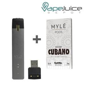 MYLE Pod System | Nicotine Delivery Device, Closed Pod System Kits, Myle Vapor, - Vape Juice Depot