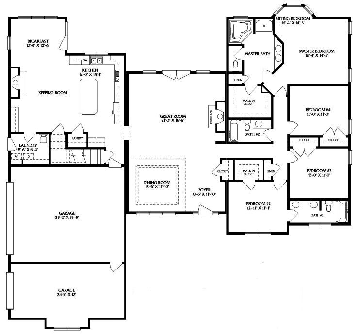 House plan afton villa from the homestore also in plans because  need to dream rh pinterest