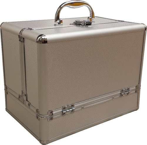 41bc6cad3 maletin porta cosmeticos maquillaje aluminio profesional pvc ...