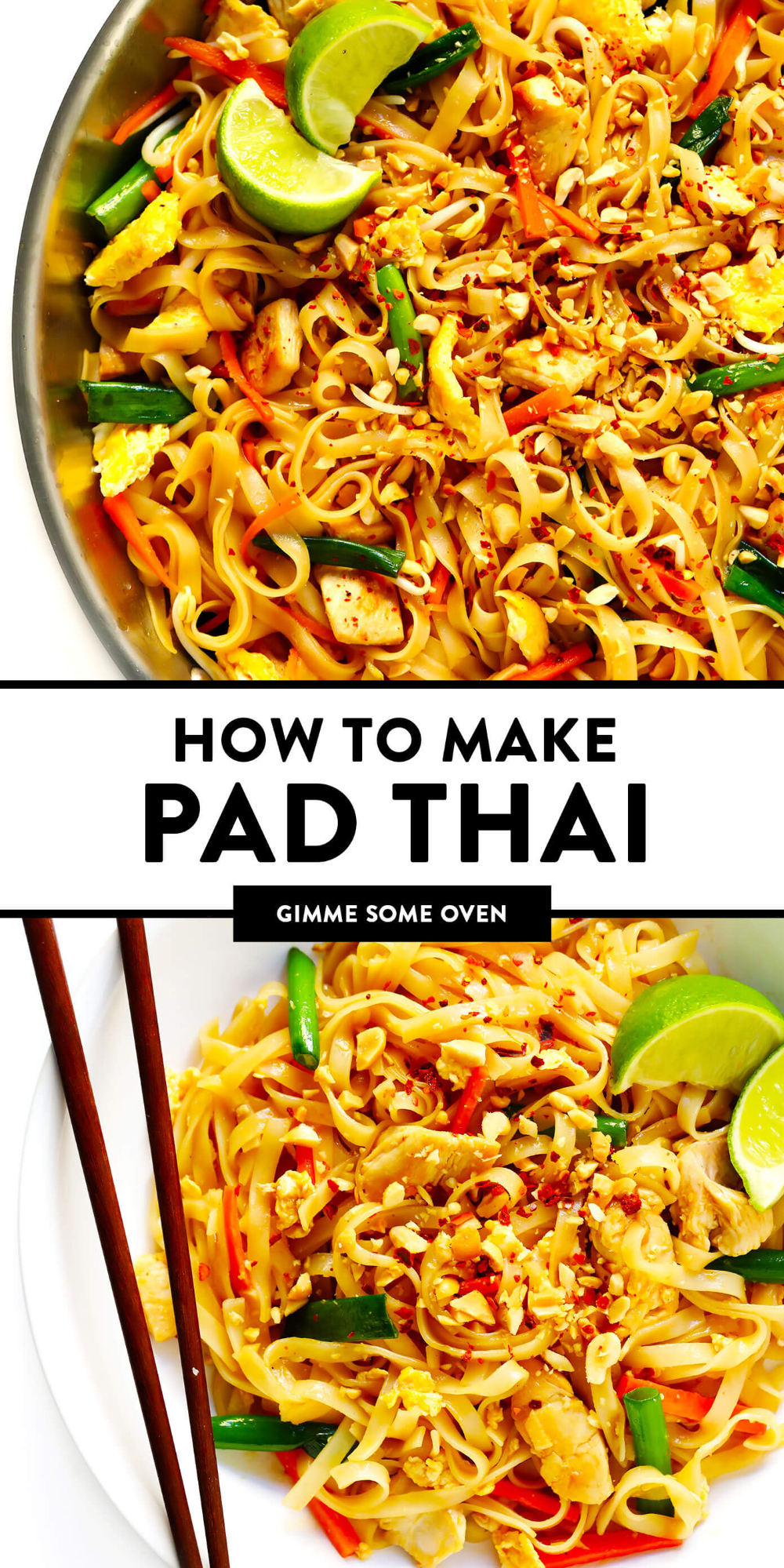 Pad Thai | Gimme Some Oven -   18 healthy recipes Shrimp tofu ideas