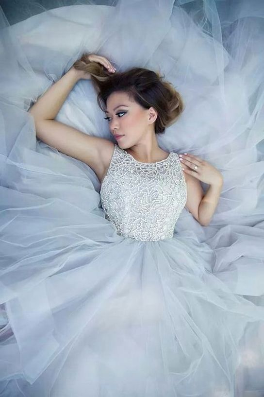 Real Brides | Hayley Paige Dori 6413 | PreOwned Wedding Dresses ...