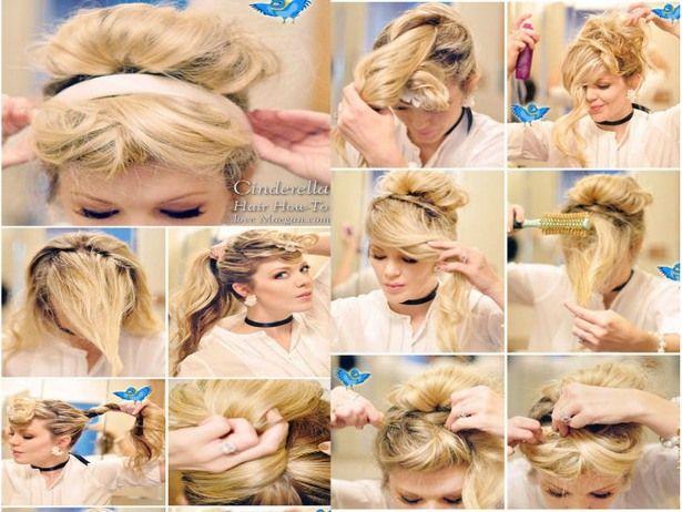 Cinderellas Classy Up Do My Fangirl Heart Hair Styles Hair