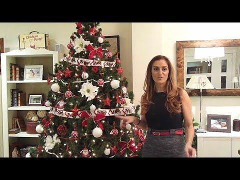 Tres ideas de color para decorar el rbol navidad youtube navidad y reyes magos pinterest - Como decorar un arbol de navidad ...