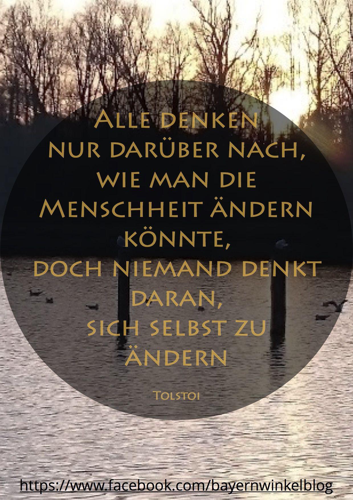 Zitat Spruche Spruchdestages Weisheit Worte Quote Words Wisdom Satnamservushallo Leben Tolstoi