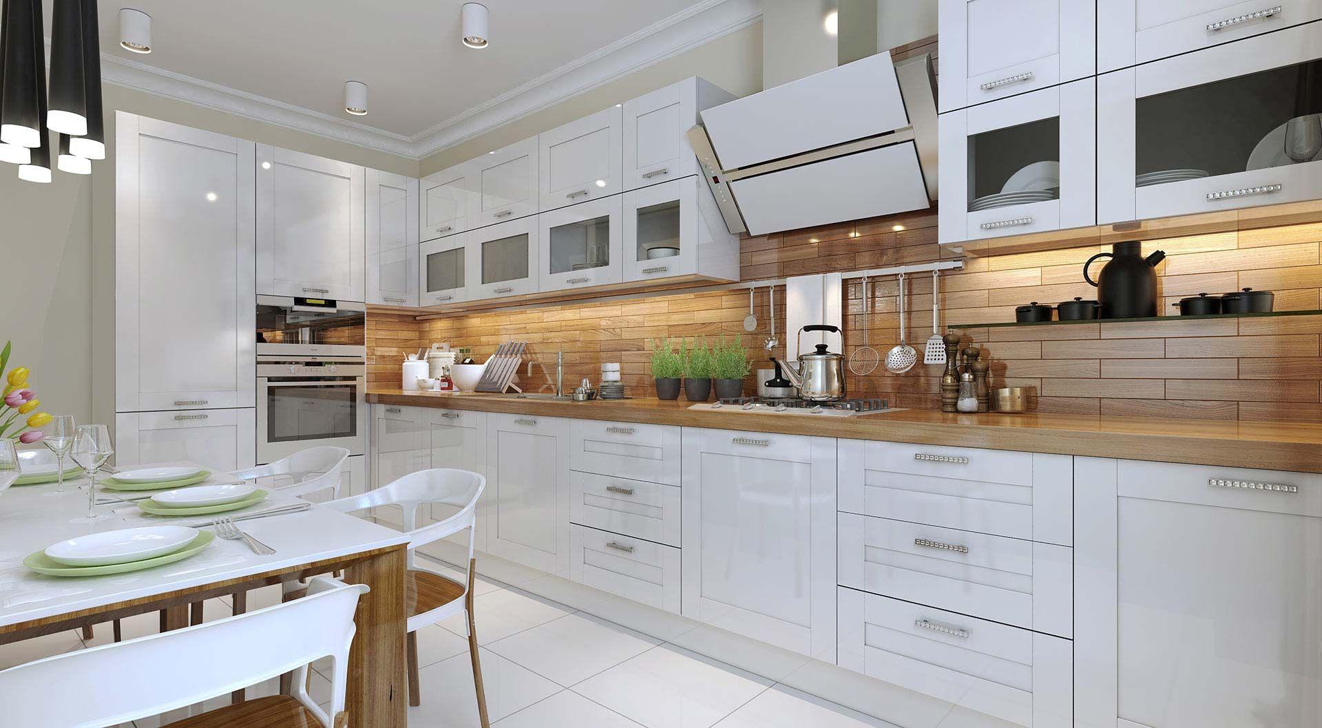 Znalezione Obrazy Dla Zapytania Kuchnia Biala Mdf Z Witryna Beautiful Kitchen Cabinets Used Kitchen Cabinets New Kitchen Cabinets