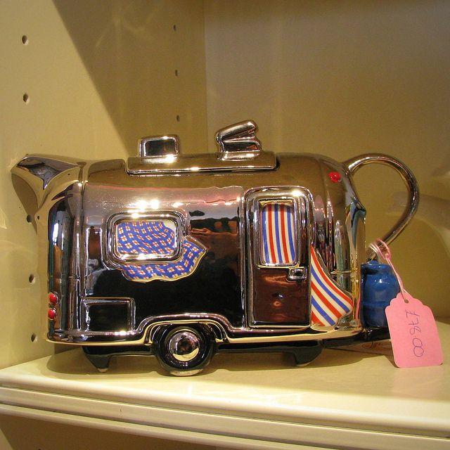 Teiera Roulotte - Caravan Teapot by giagir, via Flickr