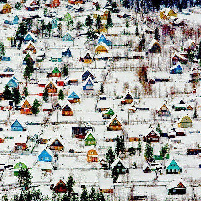 Blossomsib Фото @travels_blog На фото : дачный поселок под