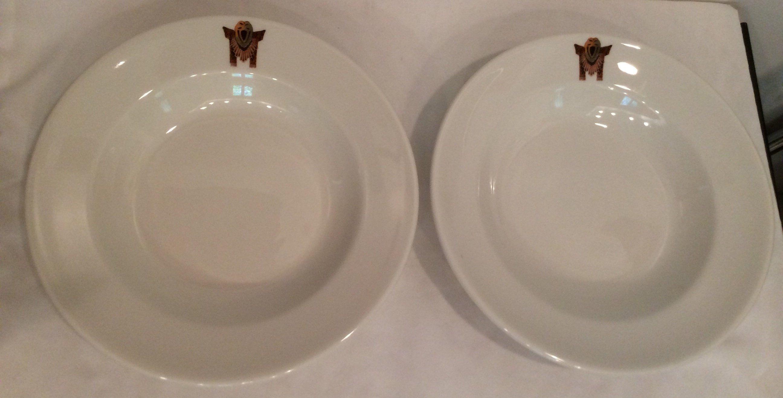 Items similar to Syracuse China O.P.C.O. Soup bowls Mohawk Indian Native American Indian memorabilia collectible dish ware housewarming gift wedding gift on Etsy