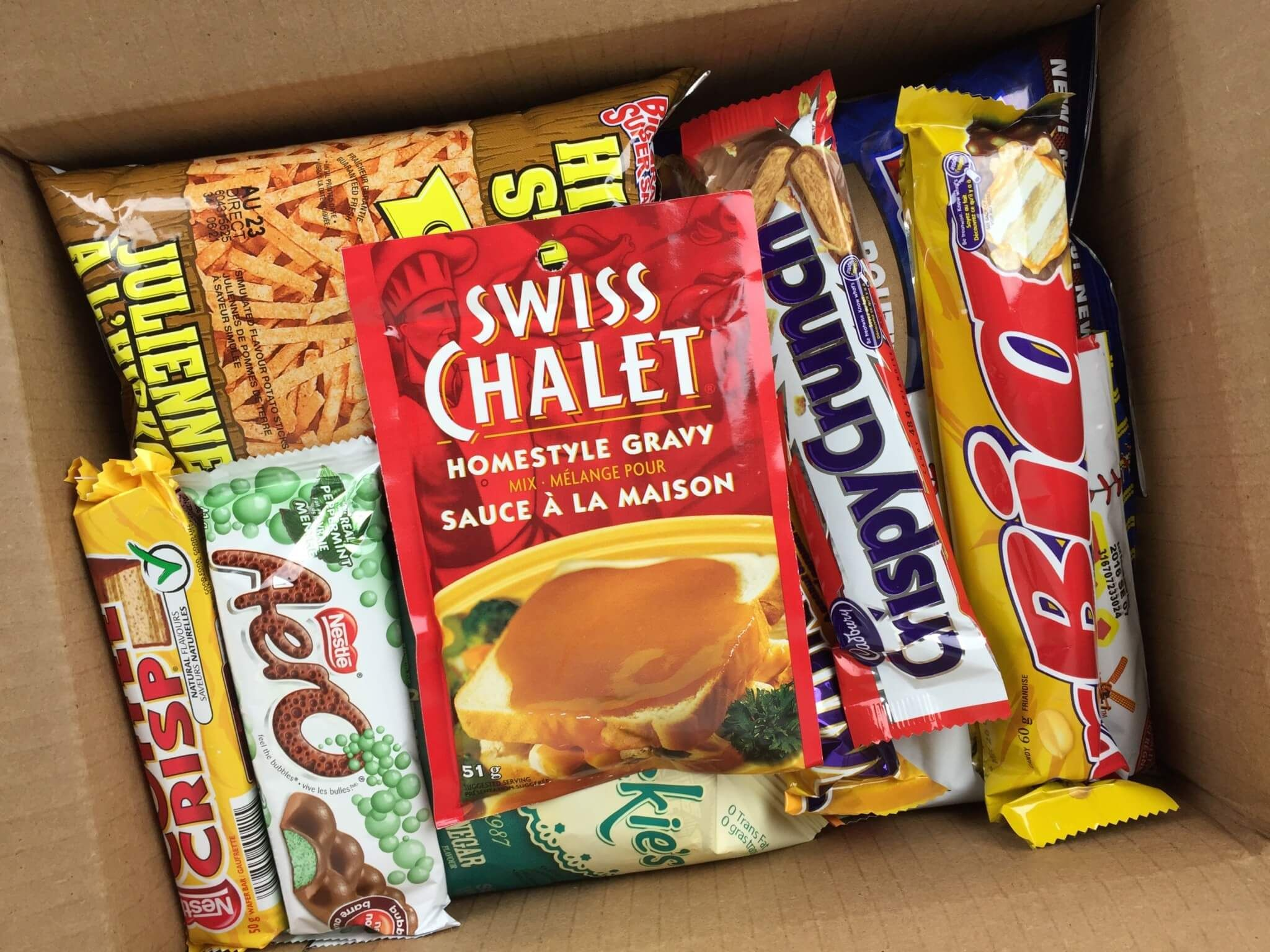 Get Canucked Canadian snacks, Canadian gifts, Monthly