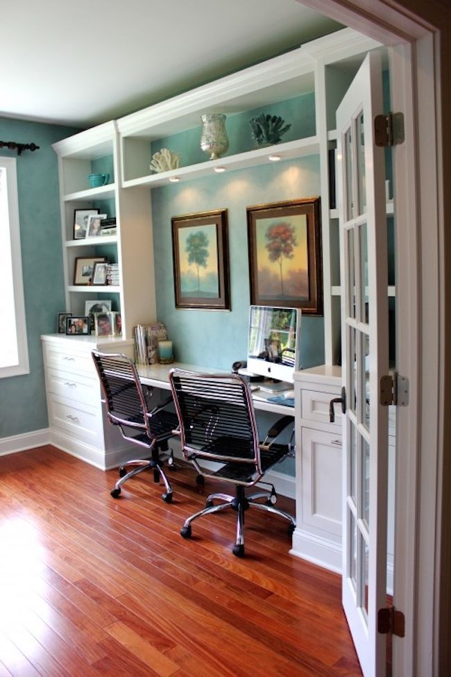 20 Awesome Beach Style Home Office Designs Oficina En Casa Oficinas De Diseno Diseno De Oficina En Casa