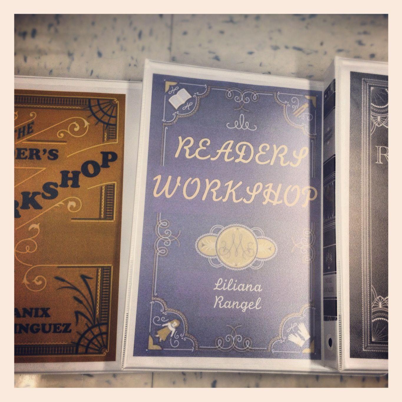 DIY Readersworkshop Binder Cover. Customize Their Binders