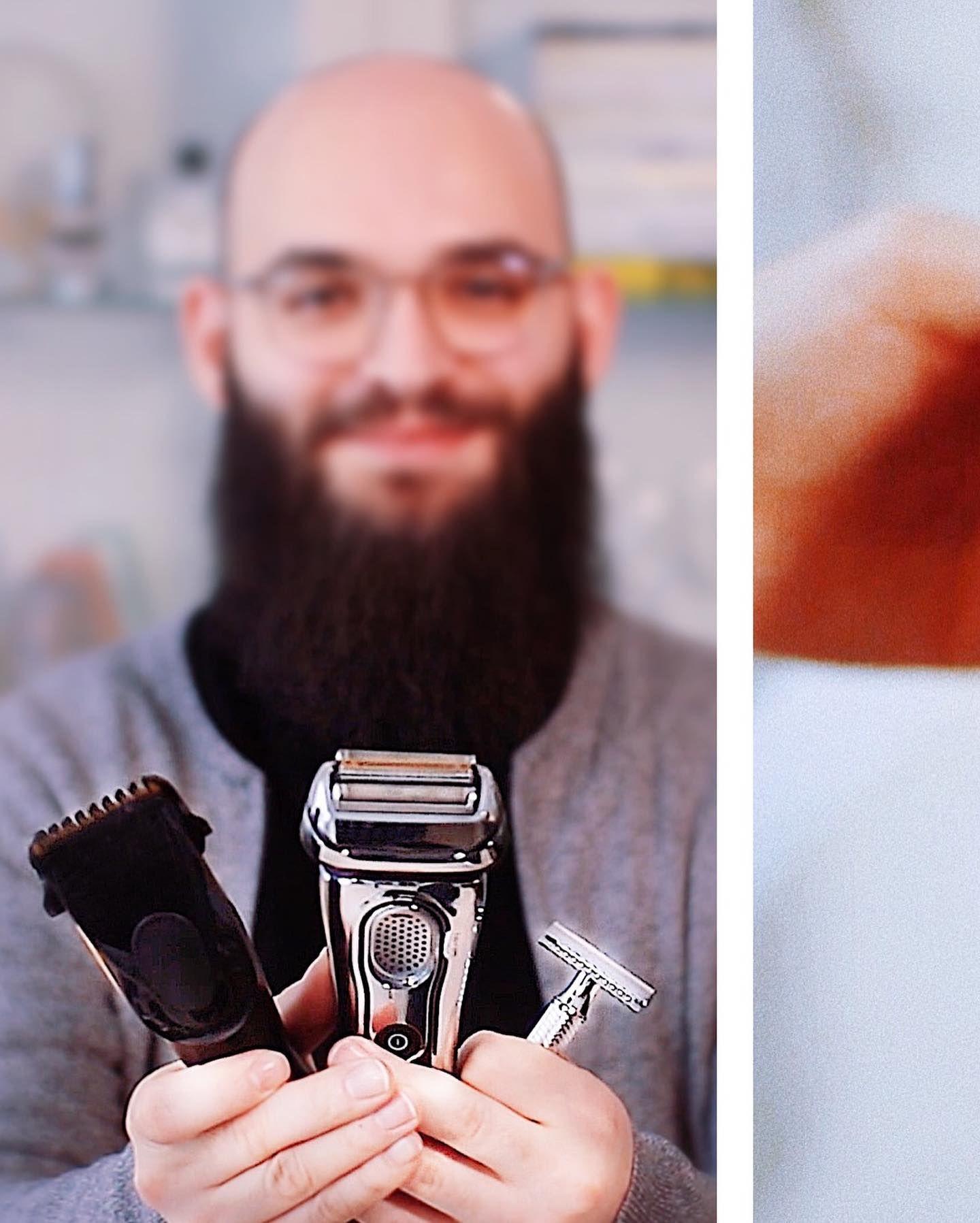 Glatze rasieren wie oft