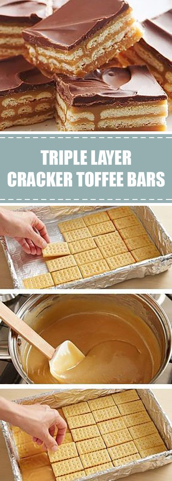 Photo of food.kitchn: Triple Layer Cracker Toffee Bars