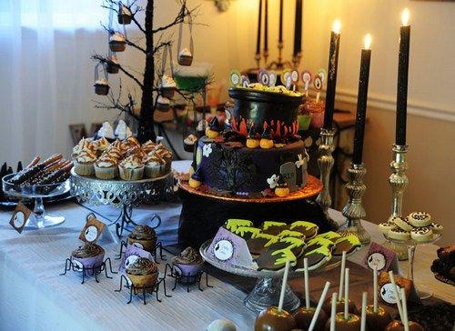 Mesa dulce Halloween Pinterest Halloween birthday parties