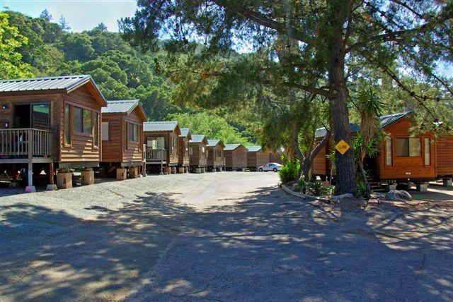 Cabin Camping At The Avila Hot Springs