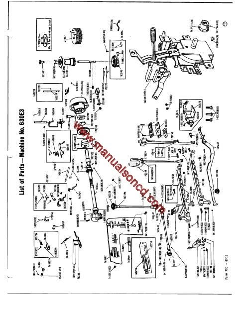 Singer 630 - 648 Sewing Machine Service Manual | fix it ... on