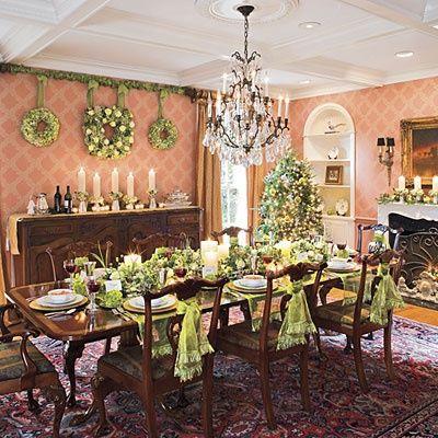 Christmas Dining Room Decorating Ideas Host A Haute Holiday Feast Dinner Table Decor Christmas Dining Christmas Dining Room