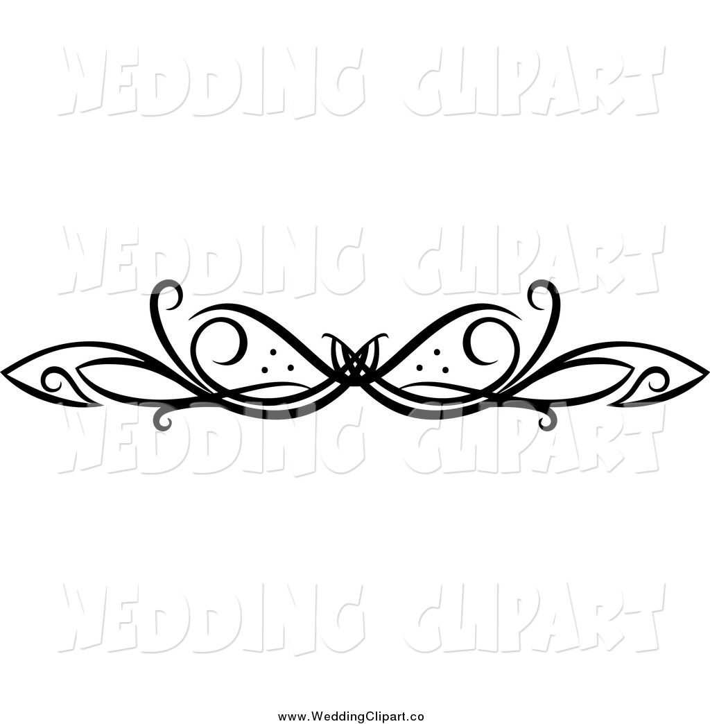 vector marriage clipart of a black and white swirl wedding rh pinterest co uk