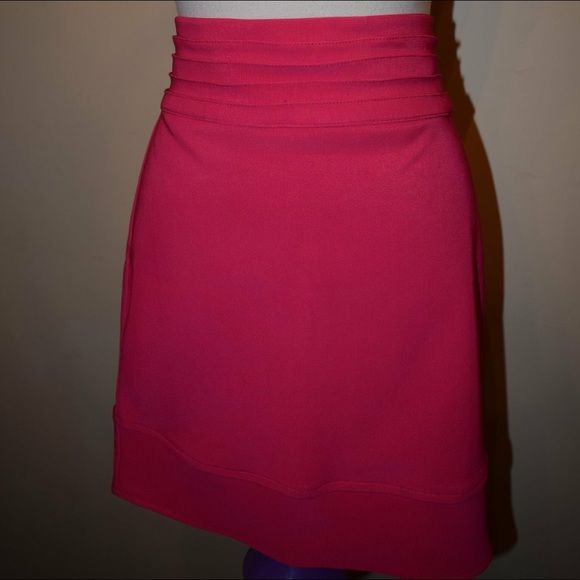 ‼️NWOT HOT PINK skirt‼️ Large hot pink skirt from Love Culture. Never worn and stunningly beautiful! (Any pics I take do not do it justice) PRICE FIRM Love Culture Skirts