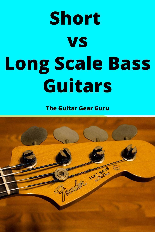 Long Vs Short Scale Bass Bass Guitar Bass Guitar