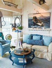 Rustic Maine Seaside Cottage Interiors  Rustic Maine Seaside Cottage Interiors