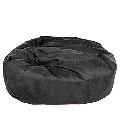 Pleasant Great Bean Bags Gbbsuemon Huge Black Huge Monster Bean Bag Caraccident5 Cool Chair Designs And Ideas Caraccident5Info