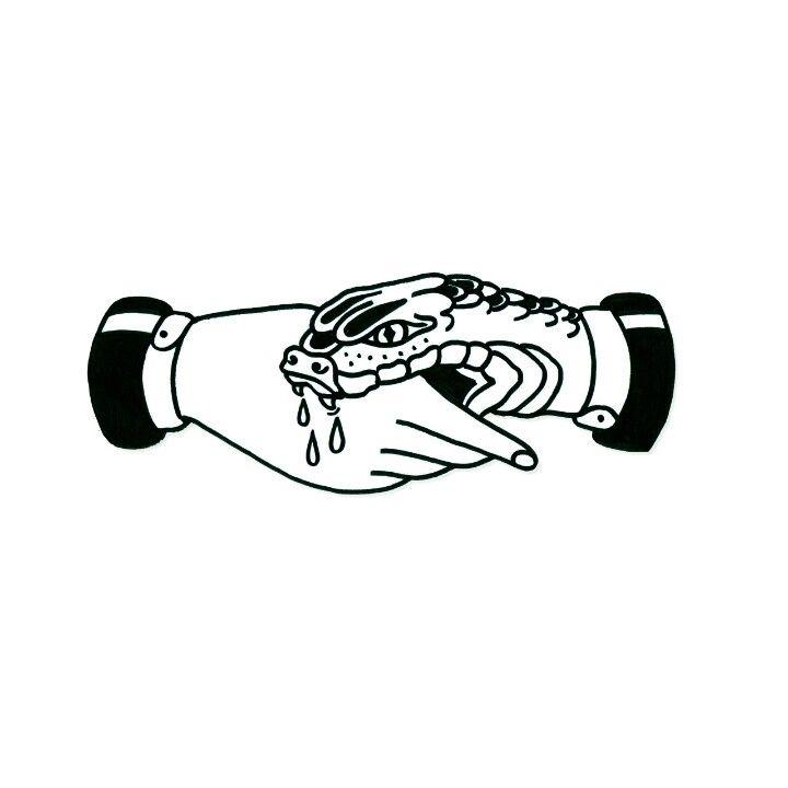 Photo of Présentation: Poignée de main avec un coup de poing (ne vous fiez pas aveuglément) autour de la cheville (serpent …