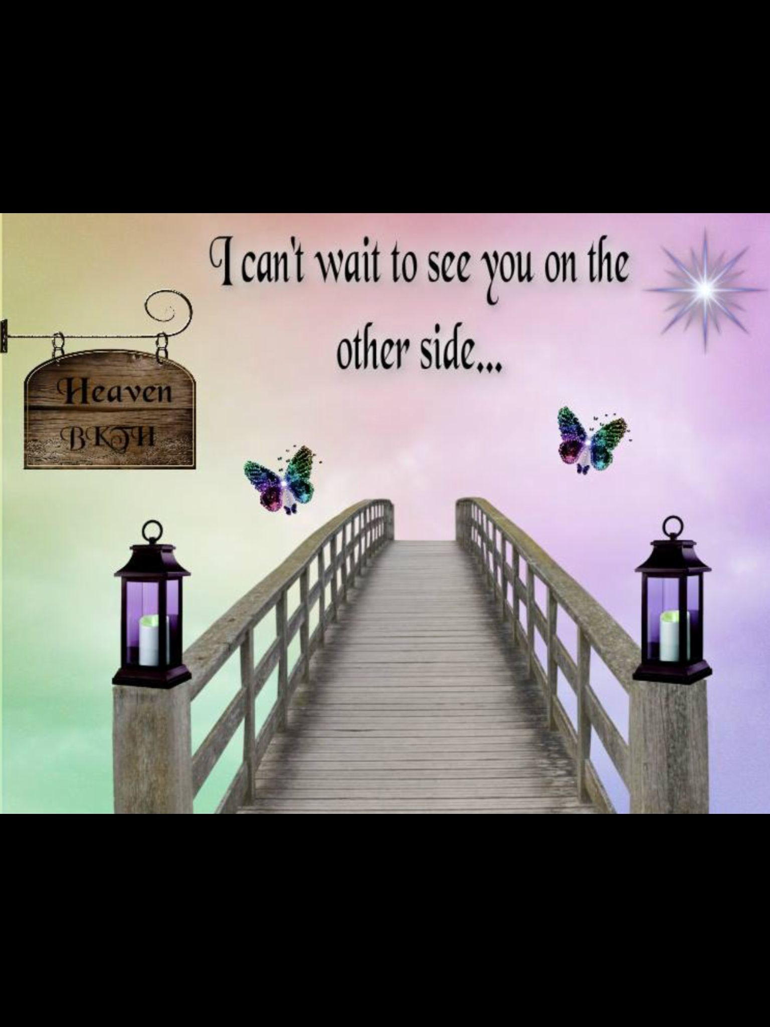 I Can T Wait To See You On The Other Side Miss You Mom Miss Mom Angels In Heaven