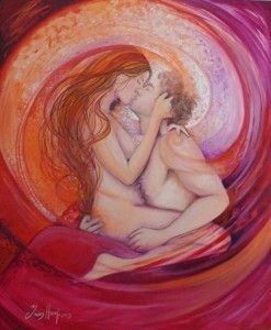Love and Twin Flames | love | Tantra art, Tantra, Erotic art