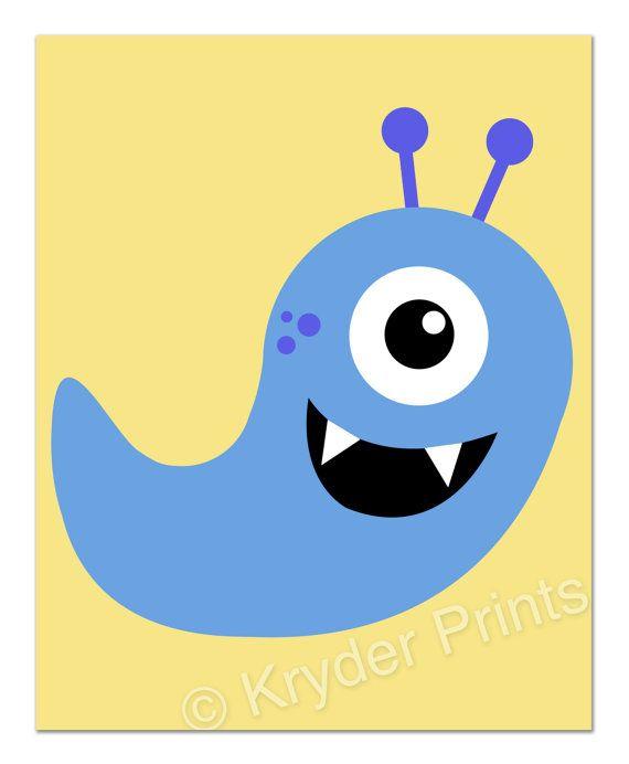 Adorable Monster Print Quot Plumper Quot For Your Own Little