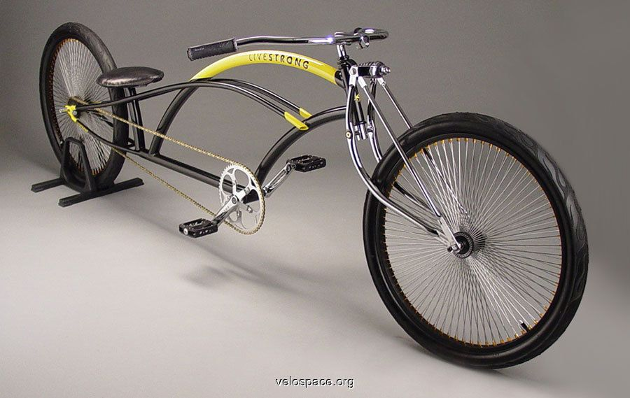 LAF custom handbuilt cruiser/lowrider on velospace, the place for bikes