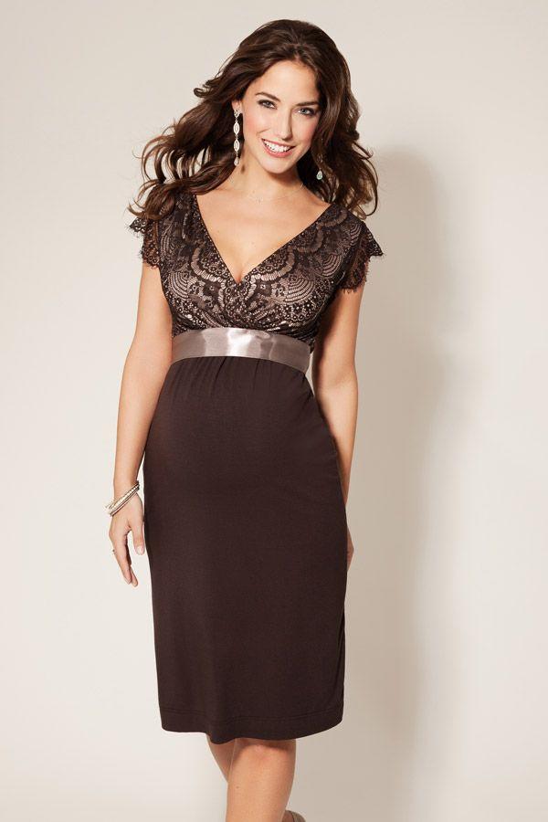 Vintage Rose Kleid mocca | Festliche umstandsmode, Umstandsmode und ...