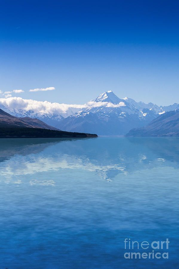 ✯ Mount Cook With Lake Pukaki - New Zealand