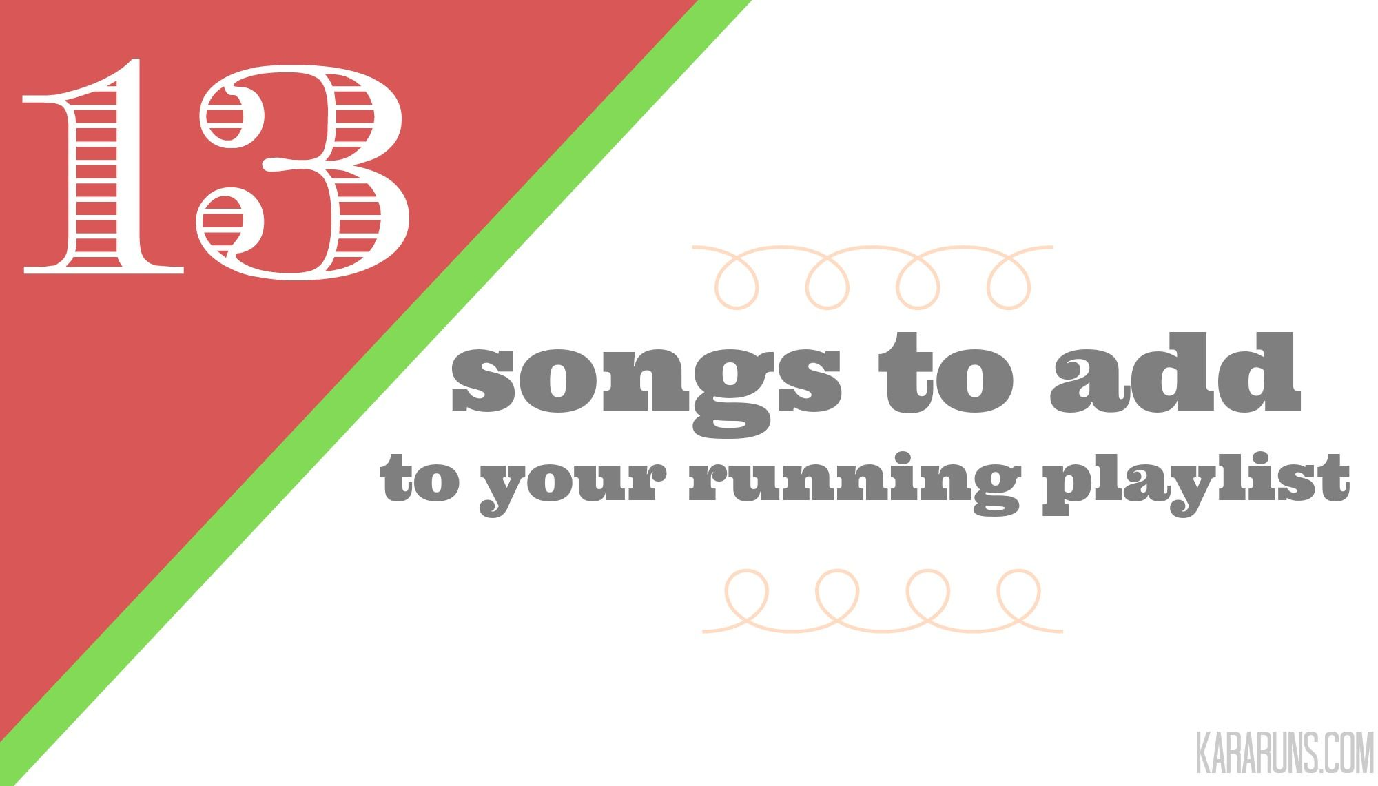 Songs to add to your #running playlist! #fitfluential   http://bit.ly/1BnYwkL