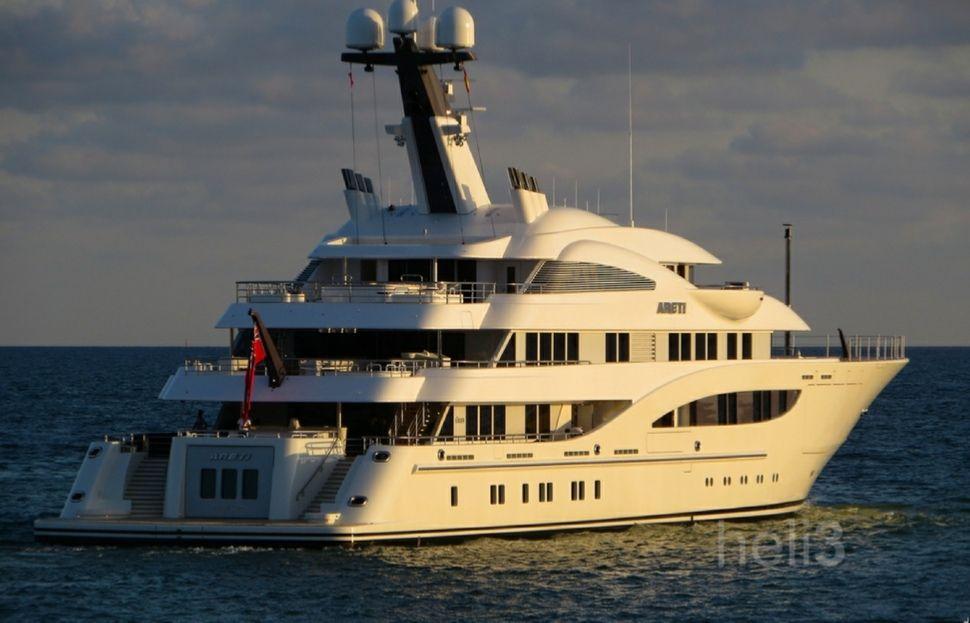 Igor Makarov yacht Areti