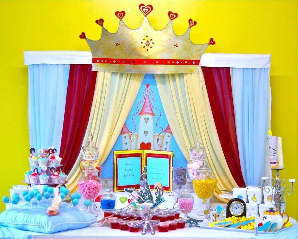 Disney Princess Birthday Party Ideas | Disney princess birthday ...