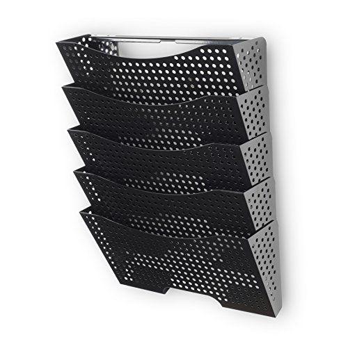Wall File Holder Organizer Metal Modern Modular Design Me