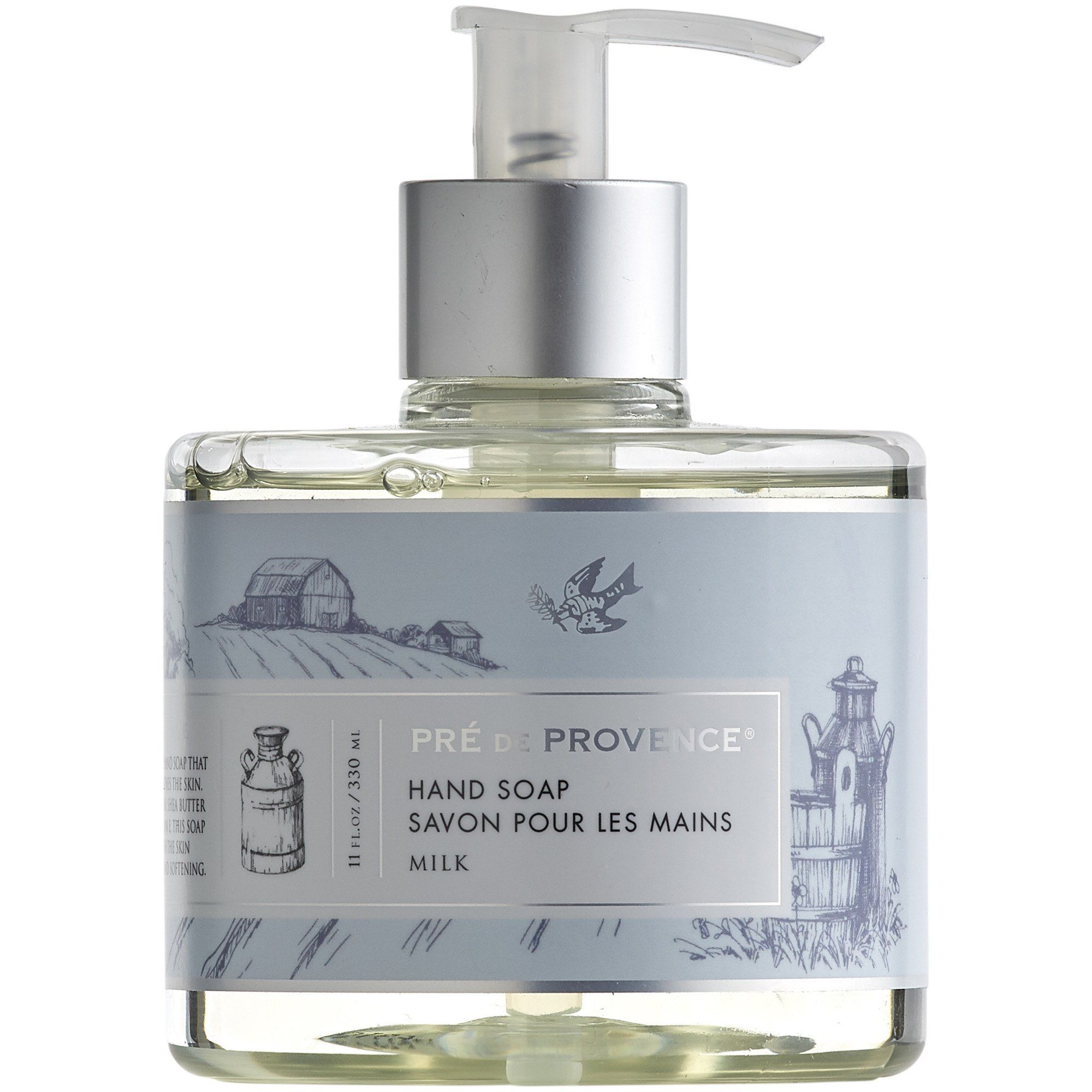 Heritage liquid soap milk liquid soap soap skin cleanse