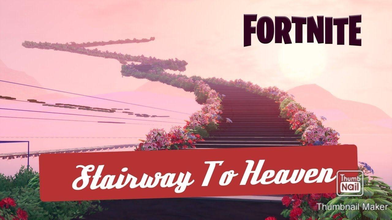 Stairway To Heaven Meme In Fortnite Chapter 2 Youtube Fortnite Youtube Stairway To Heaven