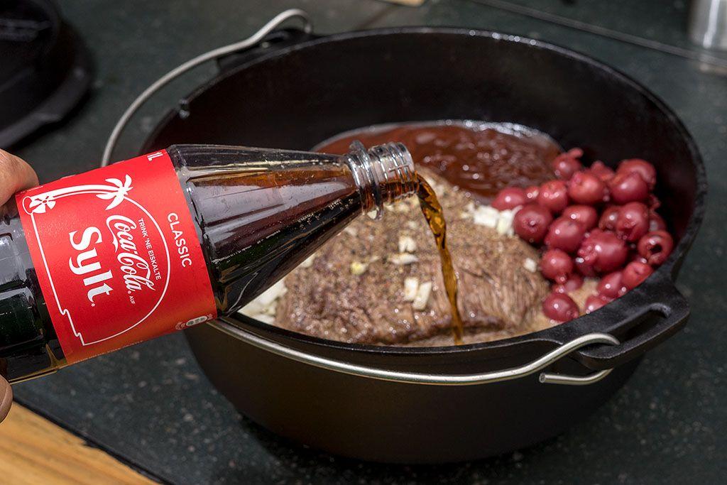 Cola Fleisch Brötchen | bigBBQ.de #grilledporksteaks