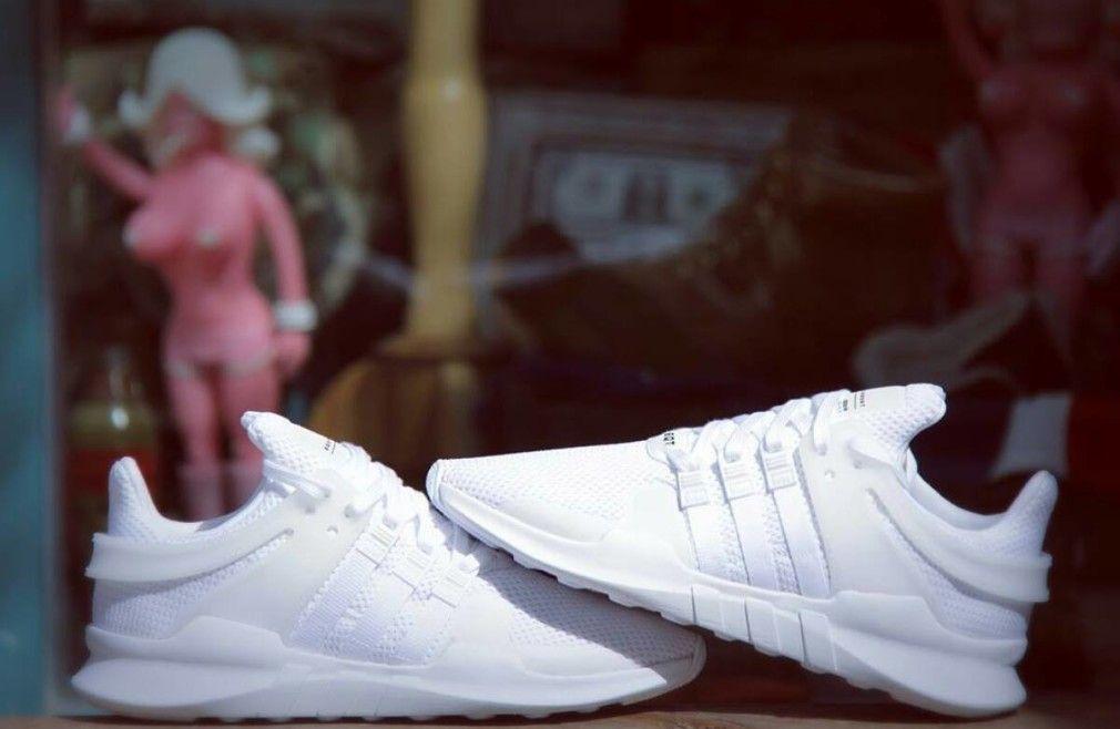 newest 5b723 42efa adidas EQT 91 16 Triple White