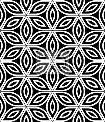 f265ad5951fec Vinilo Pixerstick Moderno del vector sin fisuras patrón de geometría ...