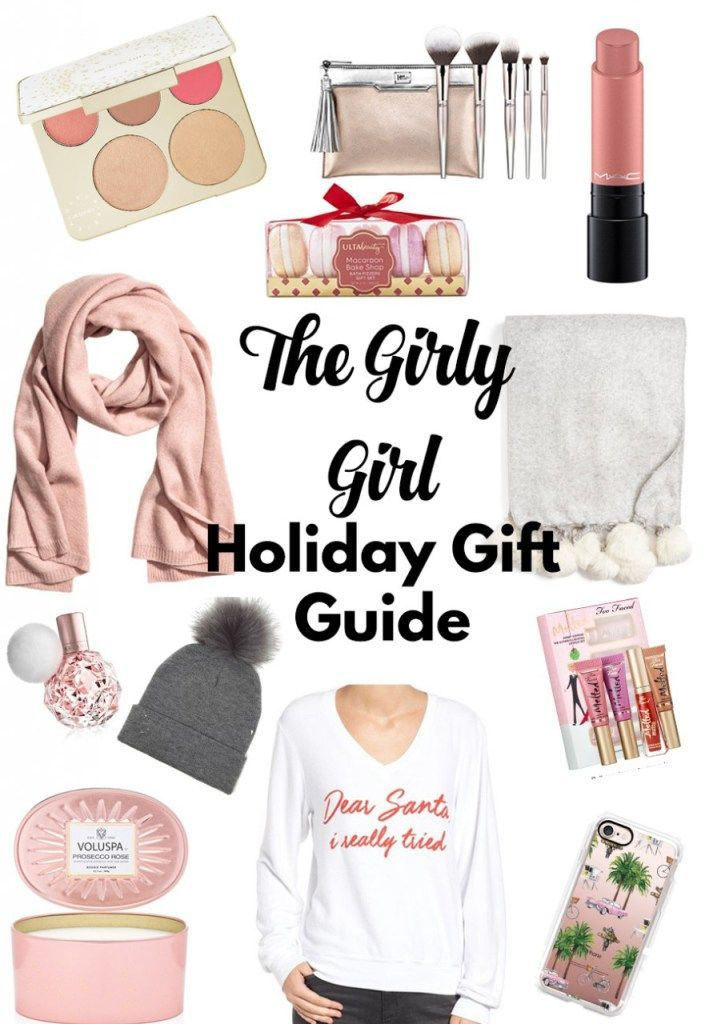 The Girly- girl holiday gift guide! best gifts for any woman in your life - so many cute and on sale gift sets, rose gold items, and comfy gifts you need or for ones you love!