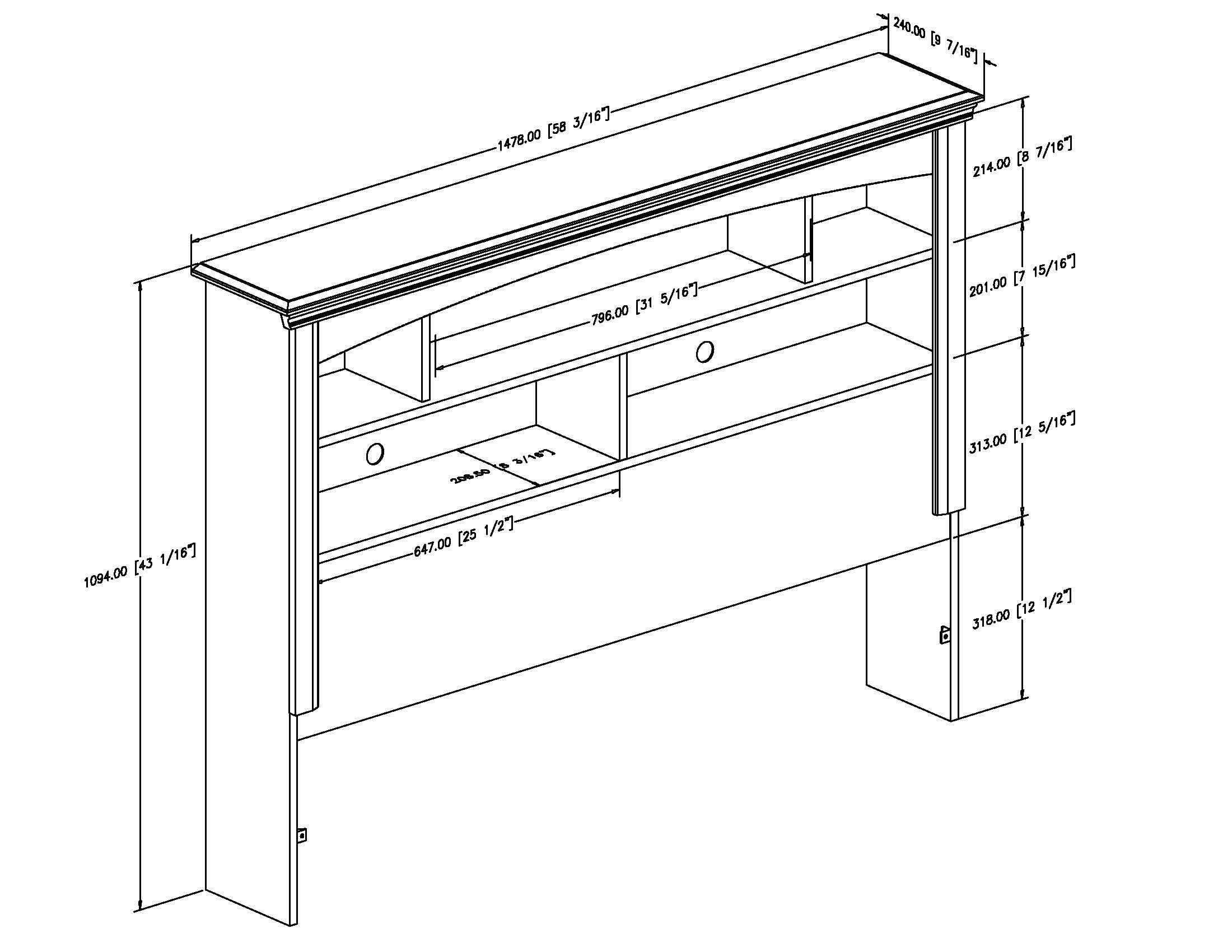 Woodwork Plans Bookshelf Headboard Pdf Plans Headboard Plan Bookshelf Headboard Woodworking Shop Storage Ideas