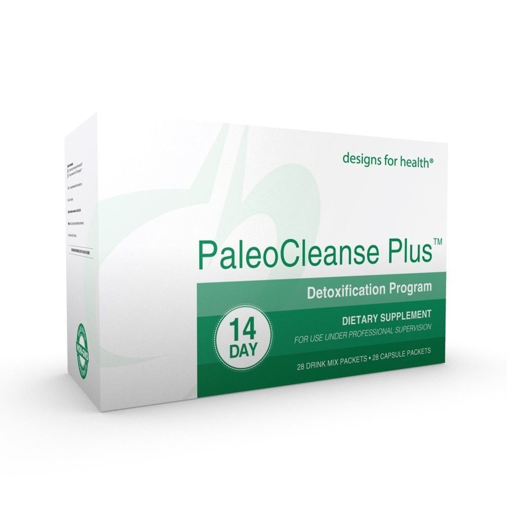 Designs For Health Paleocleanse Plus 14 Day Detoxification Program Detoxification Program Detox Program 14 Day Detox