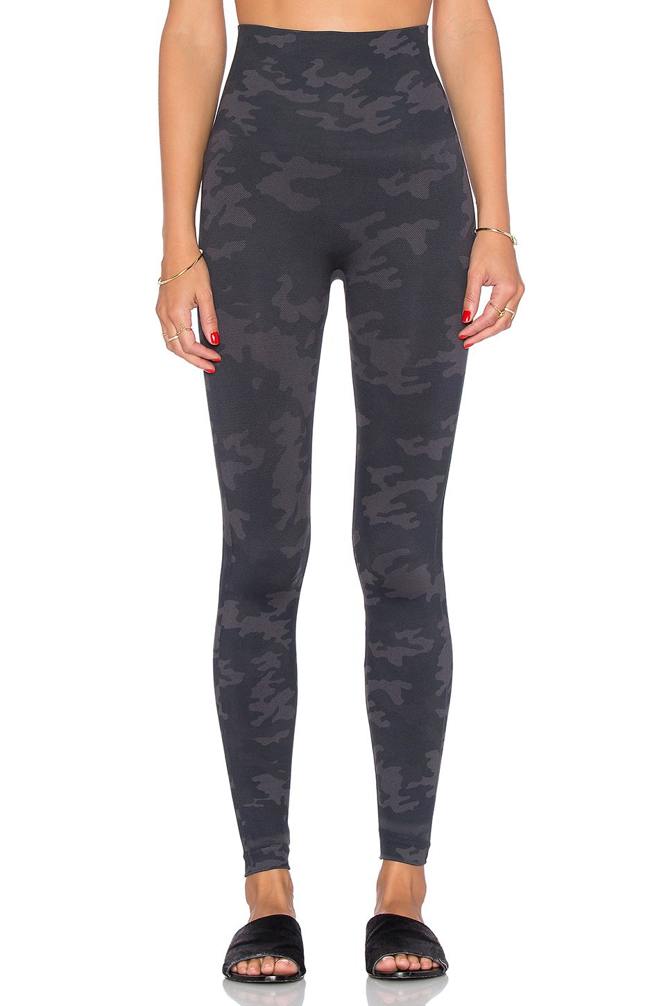 979a55c49 SPANX Look At Me Now Leggings in Black Camo