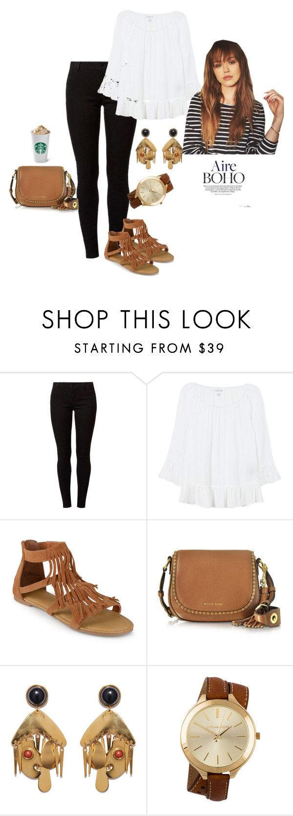 """""""Sin título #556"""" by mafer-cmxxi on Polyvore featuring moda, Dorothy Perkins, Velvet, Journee Collection, Michael Kors y Lizzie Fortunato"""