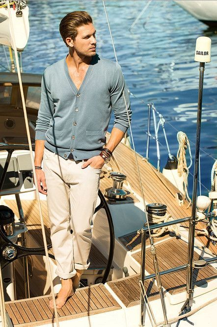 Massimo Dutti Men's Lookbook of June: Dutti office closed for holidays and move to the sea ~ Men Chic- Men's Fashion and Lifestyle Online Magazine